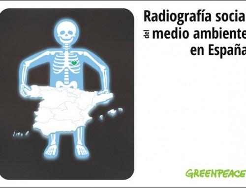 Greenpeace identifica más de 400 puntos negros en su primera radiografía social del medio ambiente en España