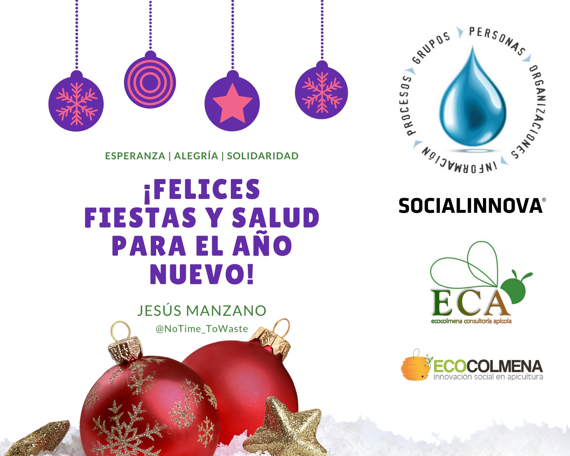 Feliz Navidad y Año Nuevo | Jesús Manzano
